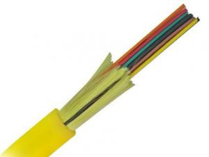 China GJFJV Single mode Fiber Optic Cable Patch Cord 9/125 OS2 Multicore Indoor Distribution Type on sale