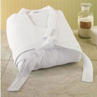 Plain white Hotel Towel,waffle weave hotel bathrobes