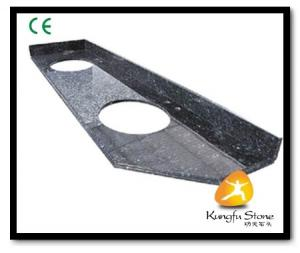 China Xiamen Kungfu Stone Ltd supply Blue Pearl Granite Countertop In High quality and cheap price on sale
