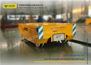 China Steel Billet Coil Transfer Trolley Ladle Transporter Workshop Movable Rail Cart on sale