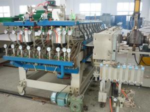 China Coroplast Plastic Sheet Extrusion Machine / Correx Board Extruder Line on sale