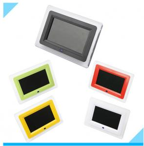 China Contemporary Customized 7 Inch LCD Digital Photo Frame With LED Light on sale