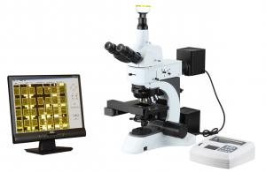 China Laboratory Auto-Focus Metallurgical Microscope With 3.2MP Digital Camera, USB2.0 on sale