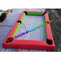 Popular Inflatable Soccer Field , interactive outdoor games With PVC
