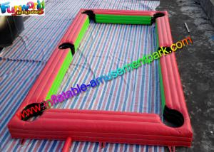 China Popular Inflatable Soccer Field , interactive outdoor games With PVC on sale