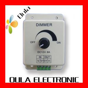 China Waterproof IP67 LED Dimmer 8A Of LED Lighting Controllers DC 12V For Strip Light on sale