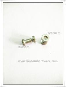 China Six-lobe torx flat head semi-tubular rivets and screws,combination female-male screws on sale