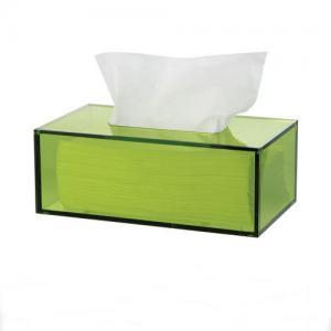 China Plexiglass Napkin Box,Lucite Tissue Holder,Acrylic Tissue Box on sale