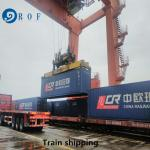 Delivered Duty Paid Train From China To France