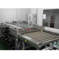 1300 mm Flat Glass Washing Machine , Glass Washer For Solar PV Glass Panel