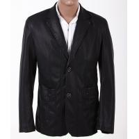 Big and Tall, 100% Viscose and Knitting, Stylish and Classic Mens PU Leather Suits