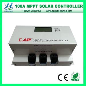 China QueensWing 100A 48V MPPT Solar Charge Controller with LCD display(QWM-48100CAP) on sale