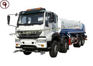 China 247 Kw 8*4 Water Tank Truck , RHD LHD Heavy Sprinkler Truck OEM Service on sale
