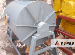 China High Efficiency Silica Sand Ball Mill / Intermittent Ball Mill Machine 15kw on sale