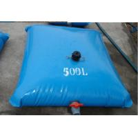 Inflatable 500L Tarpaulin Water Tank Light Weight For Fire Fighting