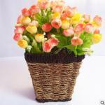Weved Beautiful Flower Basket