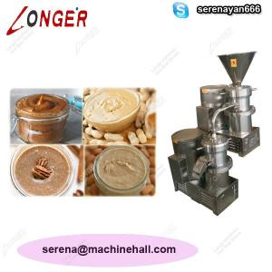 China High Quality Peanut Paste Making Machine for Sale|Tahini Grinder Machine Price on sale
