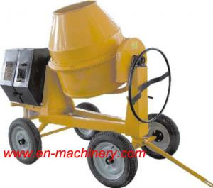 China Electric One Phase Mini Concrete Mixer 280L Diesel Mini Concrete Mixer For Sale on sale