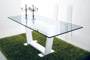China Custom Tabletop Glass , Thick Glass Table 300 MM * 100 MM Minimum Size on sale