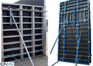 China 120 Steel Frame Wall Formwork System With Perfect Concrete Finish 120mm Thickness on sale