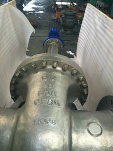 China ASME B 16.34 GATE VALVE TEST API598 TRIM F6 , TRIM F304 , TRIM 316 on sale