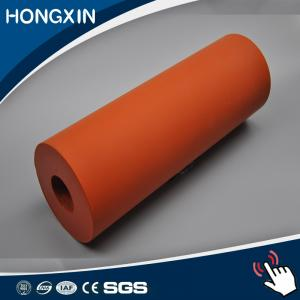 China 300C High temperature resistance silicone laminating rubber roller on sale