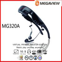 Mobile Theatre Full HD 1080P Video Glasses Play Game With PS2 , PS3 , Xbox , Wii