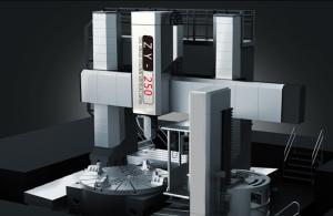 China &amp de gerencio altamente seguro dos fabricantes de China; Máquina de alta velocidade de trituração do torno vertical do CNC da coluna dobro on sale