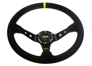 China Black Heated Steering Wheel Cover?With Not Easy Peeling Breathable Fabrics on sale