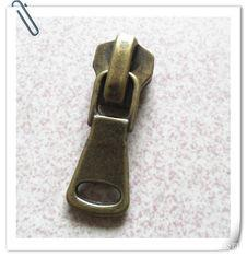 China Brass Auto Lock Zipper Slider For Metal Zipper , Replacement Zipper Slider on sale