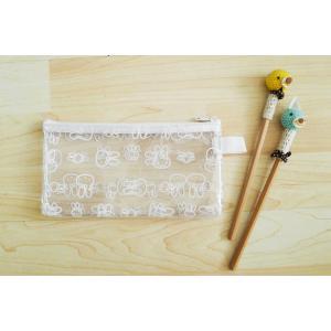 China Clear PVC Pencil Bag Meth PVC Pencil Case Transparent Zipper Pencil Pouch with Cute Cartoon Print on sale