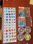 Multi Colors EPDM Rubber Granules For Kids Amusement Parks Floors 1-3mm
