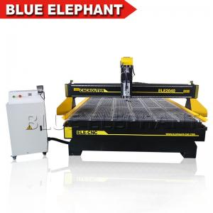 China Automatic tool changer cnc router 2040 , 3d cnc wood carving machine , 2040 cnc atc with vacuum table on sale