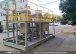 Filtración back-flusing automática del agua del inrigation del filtro con 0,1 um altas precisiones