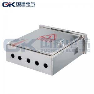 China Waterproof Outdoor Stainless Steel Electrical Box / Industrial Electrical Service Panel on sale