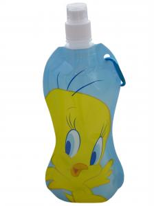 China Eco - friendly Cartoon Plastic Portable Foldable Water Bottle for Climbing Sport on sale