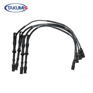 China VW BORA Spark Plug Cables , High Temp Spark Plug Wires 06A035255B Standard Size on sale