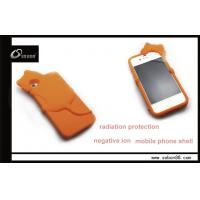 China ECO friendly silicone ion case for iphone 4s / anti-radiation cover bag on sale