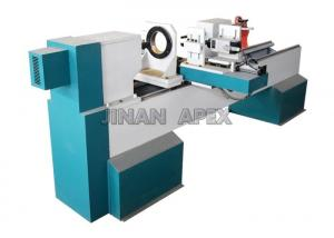 China Horizontal Spindles CNC Wood Turning Lathe Machine DSP Control System For Wood Carving on sale