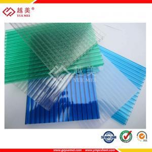 China кристалл листа окна в крыше поликарбоната покрасил лист полости поликарбоната листа поликарбоната on sale