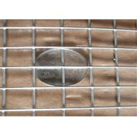 "1/4""X1/4"" Welded Wire Cloth / Panels Low Carbon Iron Hot - Dip Zinc Plating"
