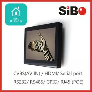 China Android Wall Mount Tablets With SIP Stack POE LED Light For SIP Video Door Phone on sale