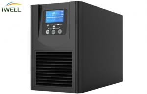 China Single Phase 1000va 800w High Frequency Online UPS With LCD Display on sale