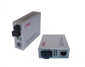 China Optical Fiber PoE Media Converter , 10M / 100M / 1000M Webmaster Media Converter on sale