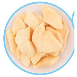 China Delicious Freeze Dried Fruit Apple Pieces Crispy Kids Nutition Health Foods on sale