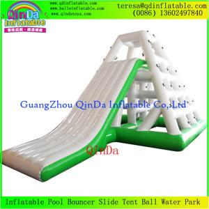 China High Quality Fashionable Giant Summer Water Slide For Adult And Kids Inflatable  Slides on sale