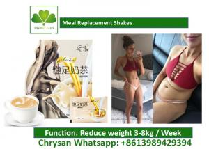 Quality Meal Replacement Smoothies For Weight Loss , 6 Days Diet Milk Tea Powder for sale