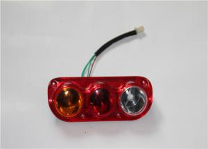 China Small Ellipse Three Motorcycle LED Brake Lights Surface Mounted 10-30V DC on sale