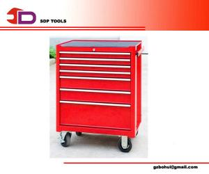 China Auto Maintenance 7 - Layer Tool Trolley Hardware Tool Kit With Length 60cm on sale