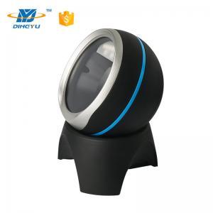 China Adjustable Degree Desktop Barcode Scanner , 2D Omni Directional Barcode Reader on sale